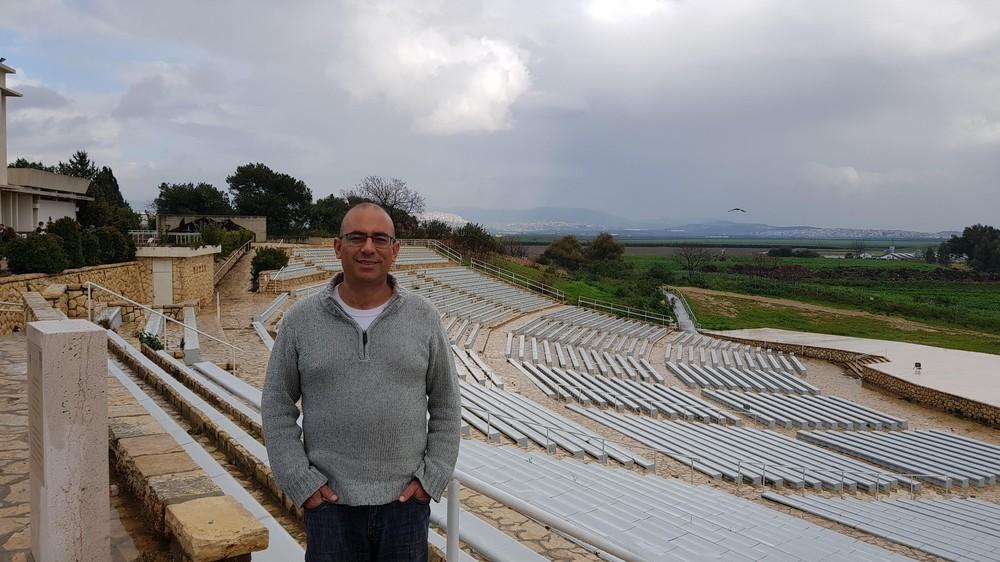 יגאל כהן בבית לוחמי הגטאות
