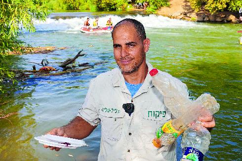 אייל ארצי בנחל הירדן