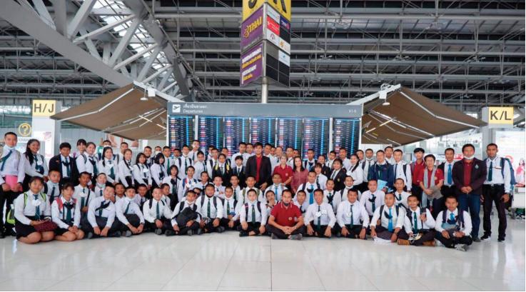 המשלחת שיצאה מתאילנד לערבה