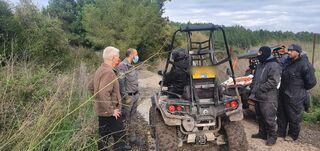 תפיסת טרקטורונים על שטח חקלאי