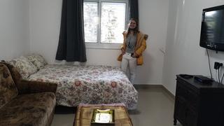 החדר החדש בגניגר התקבל בחיוך