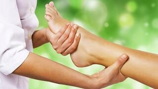 כפות הרגליים משקפות את גוף האדם