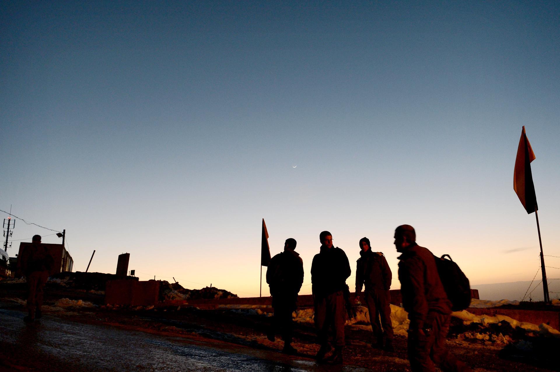 """לא היינו מתנגדים שיחריבו את הבסיס. הר אביטל, צילום: לע""""מ"""
