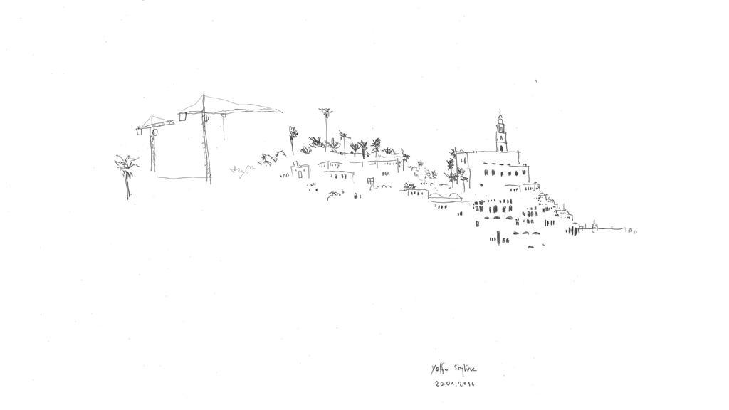 תל אביב בשחור ולבן. סקיצות מתוך הסרט
