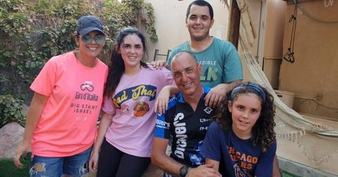 """""""שאלו אם אנחנו נורמאלים"""". הרלינגר ומשפחתו אחרי המסע, צילום: נועם רייפר"""