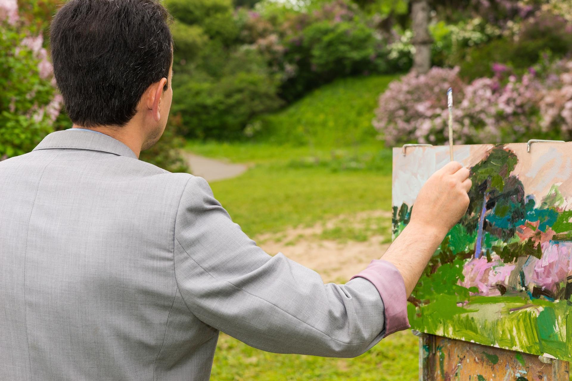חזני היה רועה צאן שתשוקת הציור בערה בליבו ובידיו. צילום המחשה: שאטרסטוק