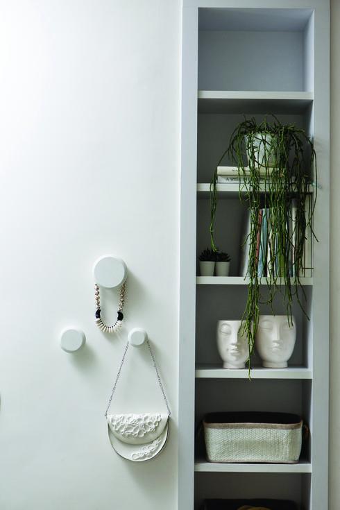 נעשה שימוש נרחב בלבן ובצמחייה טבעית. צילום: שירן כרמל